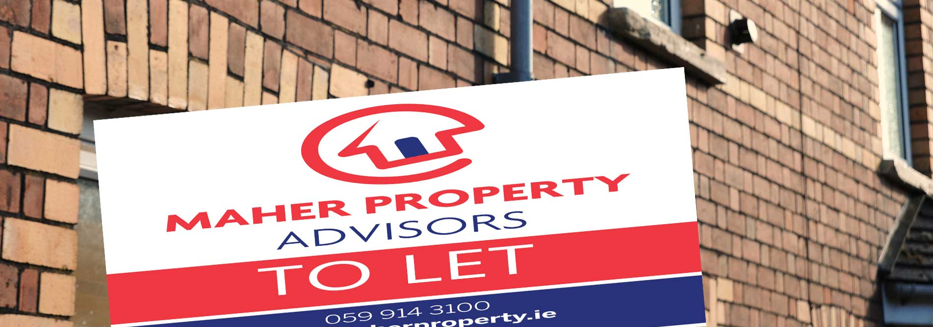 maher property advisors letting sign